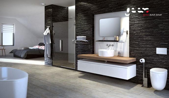 Geesa modern art strak maar verfijnd design voor alle producten op het gebied van de - Moderne design badkamer ...